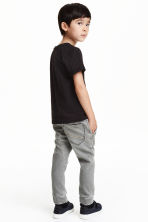 Denim joggers - Grey - Kids | H&M CN 2