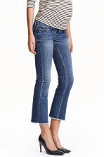MAMA Kick Flare Jeans - Blu denim scuro - DONNA | H&M IT 1