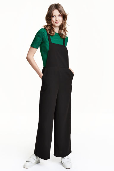 Dungarees - Black - Ladies | H&M GB 1