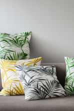 Cotton cushion cover - Green - Home All | H&M GB 1