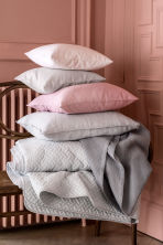 Washed linen pillowcase - Light grey - Home All | H&M IE 5