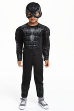 Superhero costume - Black/Spiderman - Kids | H&M CN 1