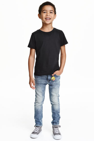 Skinny Fit Jeans - Light denim blue - Kids | H&M CN 1