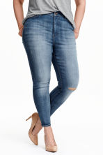 H&M+ Skinny High Jeans - Denim blue - Ladies | H&M CN 1