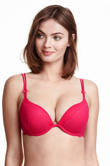 The corset lifts the breasts to create instant cleavage! Super Boost Magic Enhancer Push Up Bra. This bra really works! Bra will add bra sizes to your bust!
