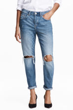 Boyfriend Low Jeans - Blu denim chiaro - DONNA | H&M IT 1