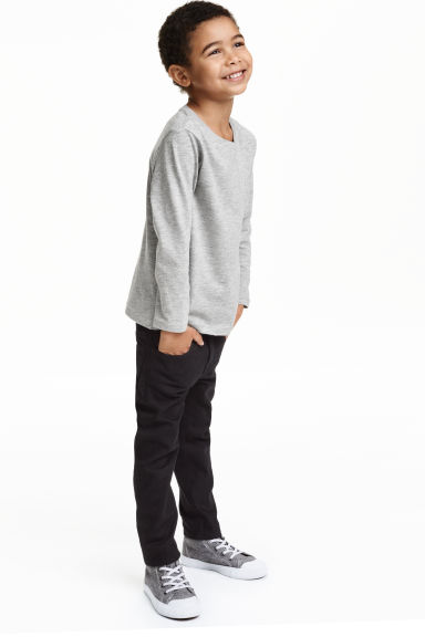 Slim Jeans - Black - Kids | H&M 1