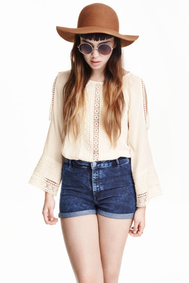 Shorts High waist Modello