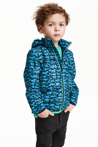 Windbreaker - Dark blue/Blue - Kids | H&M CN 1