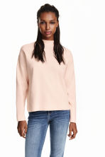 Turtleneck jumper - Powder pink - Ladies | H&M GB 1