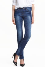 Straight Regular Jeans - Blu denim scuro - DONNA | H&M IT 1
