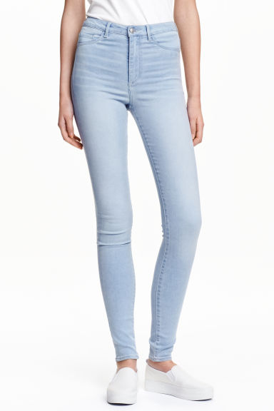 Super Skinny High Jegging - Light denim blue - Ladies | H&M GB