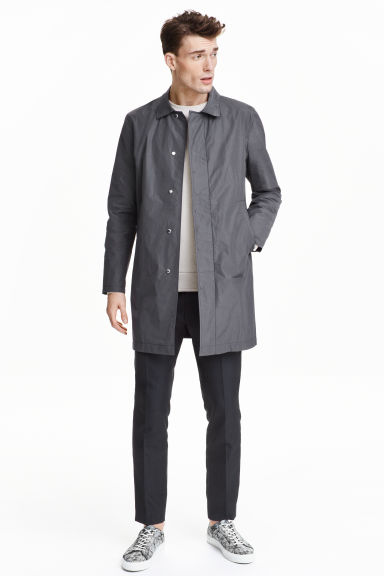Car coat - Grey - Men | H&M GB