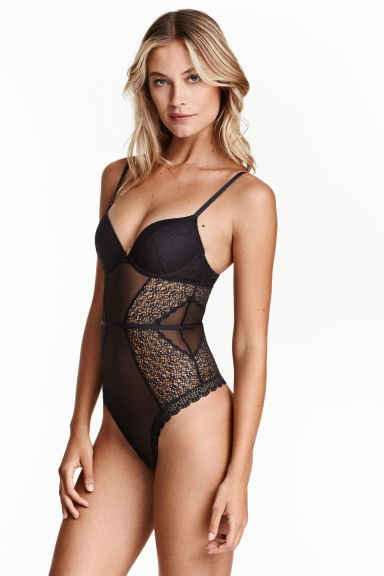 String Body In Lace
