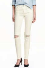 Slim Regular Jeans - Natural white - Ladies | H&M CN 1
