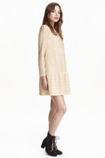 Lace dress - Natural white - Ladies | H&M GB 1