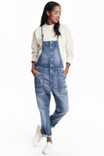 Dungarees - Denim blue - Ladies | H&M GB 1