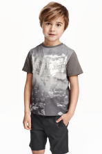 Printed T-shirt - Dark grey/Batman - Kids | H&M CN 1