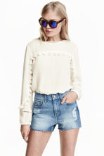Shorts in jeans High Waist - Blu denim - DONNA | H&M IT 1