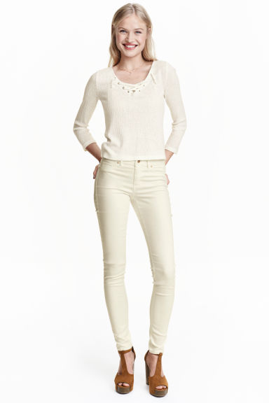 Superstretch trousers - White - Ladies | H&M CN 1