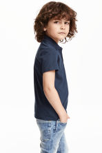 Polo shirt - Dark blue -  | H&M 2
