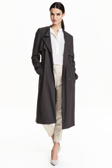 Trench - Grigio scuro - DONNA | H&M IT 1