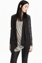 Jacket with a shawl collar - Black - Ladies | H&M CN 1