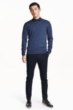 Chinos Slim fit - Blu scuro -  | H&M IT 2