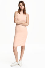 Turtleneck dress - Powder - Ladies | H&M GB 1