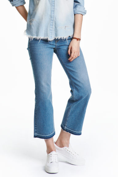 Kick Flare Ankle Jeans - Denim blue - Ladies | H&M