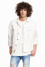 Twill jacket - White - Men | H&M CN 1