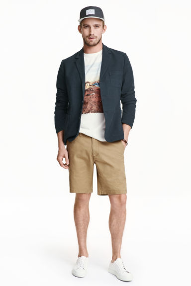 Shorts modello chinos - Beige scuro - UOMO | H&M IT 1