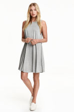 A-line dress - Grey marl - Ladies | H&M CN 1
