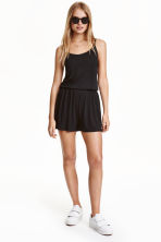 Jersey playsuit - Black - Ladies | H&M CN 1