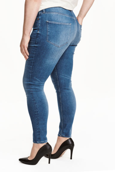 H&M+ Shaping Skinny Jeans - Dark denim blue - Ladies | H&M CN 1