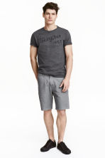 Chino shorts - Grey - Men | H&M CN 1