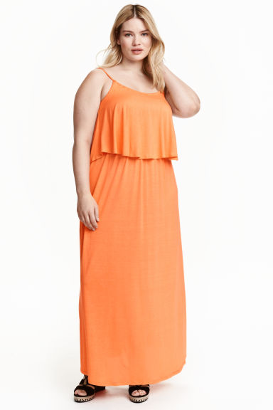 H&M+ Maxi dress - Orange - Ladies | H&M CN 1