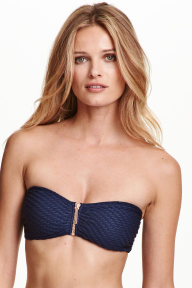Top bikini - Blu scuro - DONNA | H&M IT 1