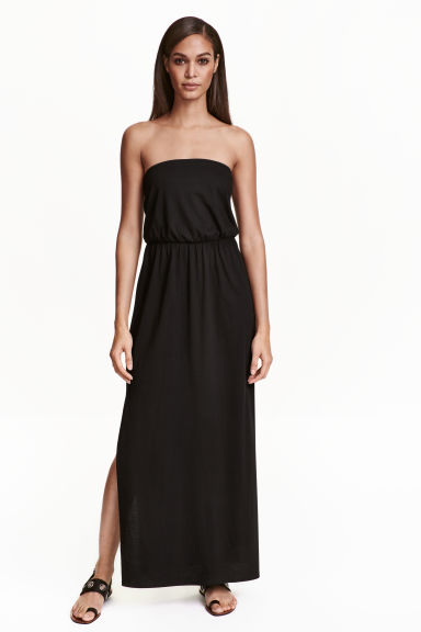 Maxi dress - Black - Ladies | H&M 1