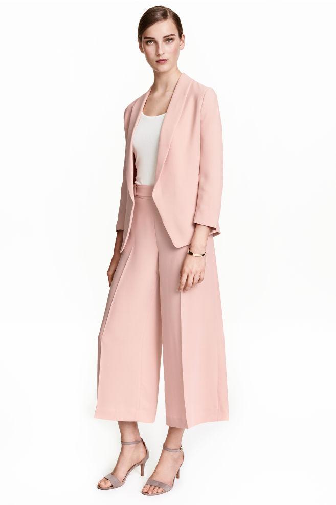 Culottes - Powder pink - Ladies | H&M GB