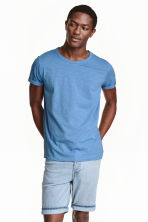 Shorts in jeans - Blu denim chiaro - UOMO | H&M IT 1