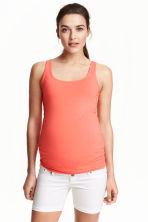 MAMA Jersey top - Coral - Ladies | H&M CN 1