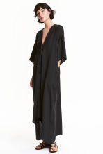 Oversized dress - Black - Ladies | H&M GB 1