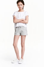 Jersey shorts - Grey marl - Kids | H&M 1