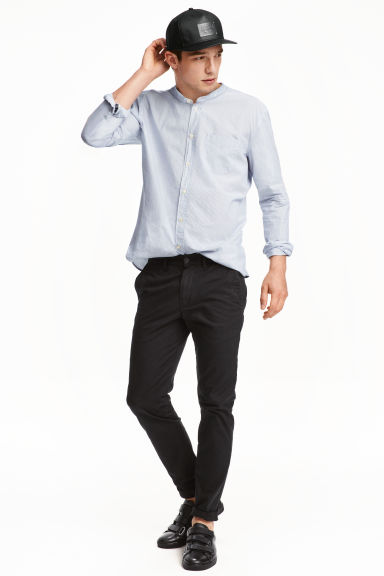 Chinos Skinny fit - Black -  | H&M 1