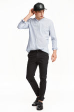 Chinos Skinny fit - Black -  | H&M 3