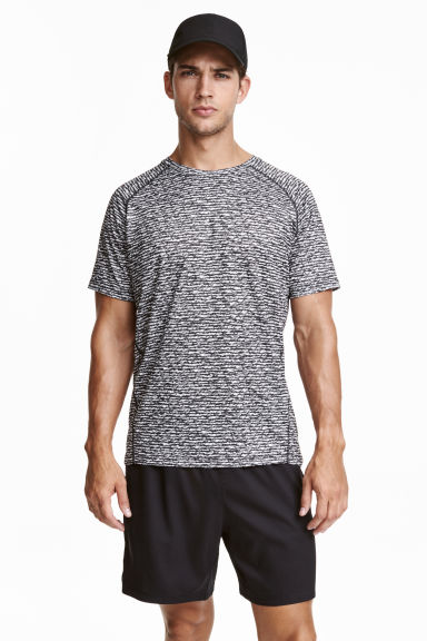 Running shorts - Black - Men | H&M CN 1