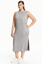 H&M+ Sleeveless dress - Grey marl - Ladies | H&M CN 1