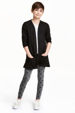 Jersey leggings - Dark grey/Stars - Kids | H&M CN 1