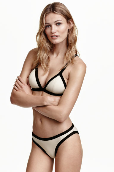 Slip bikini - Bianco naturale - DONNA | H&M IT 1
